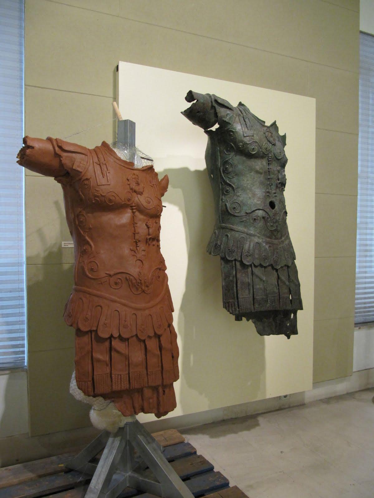 08 Copia por puntos del Thoracato del Museo de Cádiz